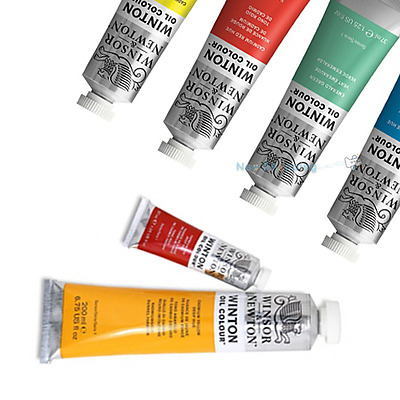 Winsor & Newton Winton Oil Paint 37ml Tubes -47 Colours Available - Single Paint