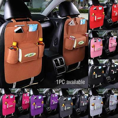 Auto Car Back Seat Organizer Holder Multi-Pocket Travel Storage Bag Hanger