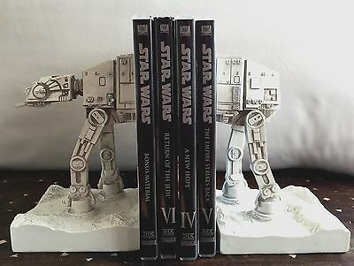 Brand New Star Wars AT-AT Imperial Walker Giant Bookends Looks Stunning