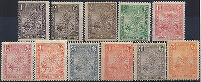 MADAGASCAR - N° 63 à 72 + 74 COLONIES - 11 Stamps New (hinge) 1903