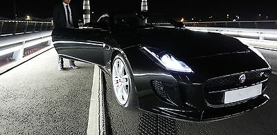 Jaguare F type R coup fully loaded with supercar hire business