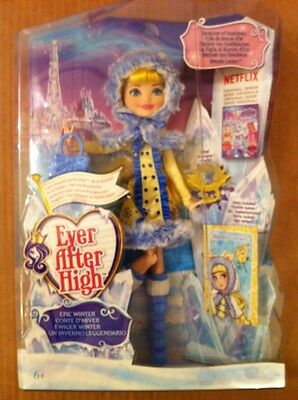 Ever After High DKR66 Epic Winter Blondie Lockes Doll. **NEW**