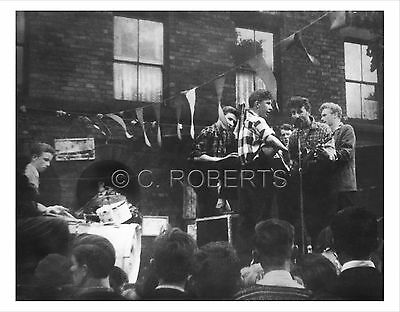 John Lennon and the Quarrymen - Rare Photo No.2