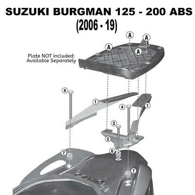 Kappa KR3106 Specific Rear Top Box Rack - Suzuki 125/200 Burgman (06-15, 14-16)