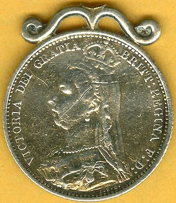 """""""... and a silver sixpence in her shoe"""" – 1887 GOLDEN JUBILEE YEAR SIXPENCE"""