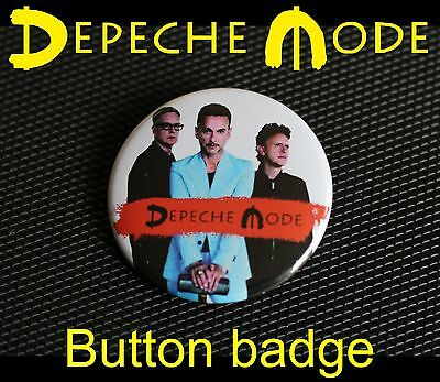 Depeche Mode - Button Badge Anstecker - DM Spirit Band pic
