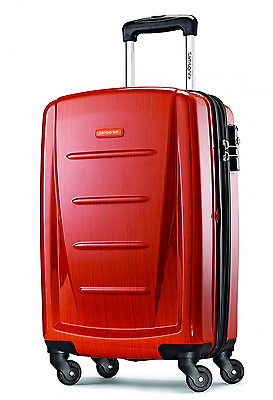 Samsonite Luggage Winfield 2 Fashion Hardside 20 Inch Carry-On Spinner Orange