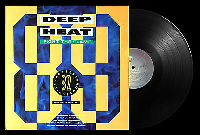 Deep Heat '89 Fight The Flames Double Vinyl LP 1989 Album Telstar - STAR 2380