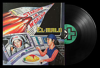 El-Malo Starship In Worship Vinyl LP 1994 Rare German Album 99 Records - 9007