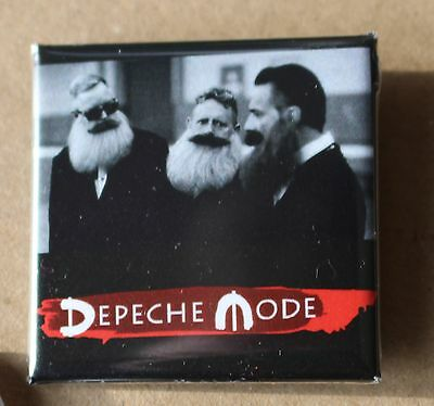 Depeche Mode - Button Badge Anstecker - Revolution-Video / DM mit Bart