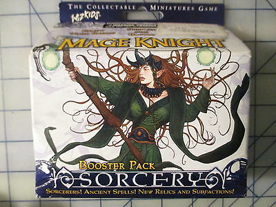 WizKids Mage Knight Sorcery Booster Pack (1) WZK0211 SEALED NEW OOP