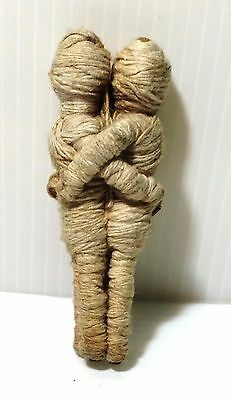 Rare Thai Amulet Buddha magic rope doll LP Bawang for eternal love