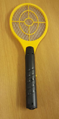 A Brand New Bug Zapper Racket Battery Operated Mosquito Fly Swatter Handheld