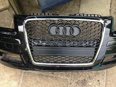BRAND NEW Audi A3 8P Facelift RS3 RS 3 Style Front Grille Panel Gloss 2004-2008