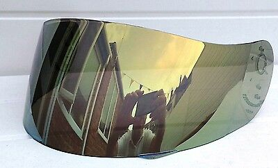 Fits Lazer Fibre Pro gold mirror Visor Shield