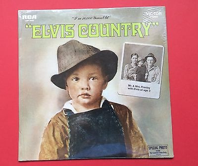 Elvis Presley- Original Usa Elvis Country,still Sealed With Bonus Photo