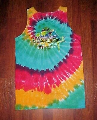 Jimmy Buffett Margaritaville Orlando Tie Dye Boys Girls Beach Summer Tank Top S