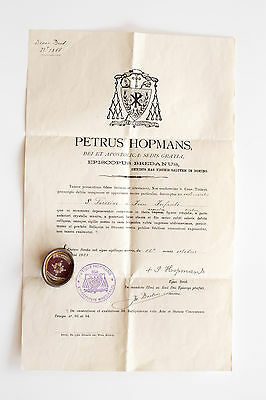 Relic of St. Theresa of Lisieux with document chalice vestment cope monstrance