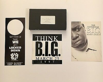 The Lox, Notorious B.i.g. Video Promo Pack! (Biggie, Bad Boy, The Lox,