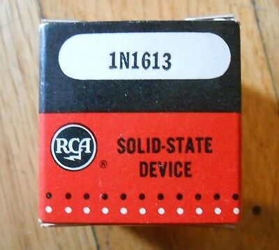 RCA 1N1613 Diode Silicon Si 100V 5A DO-4 Rectifier in Box w/hardware - 7 Diodes
