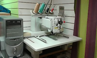 Toyota Industrial Embroidery Machine with Computer and Embroidery Files