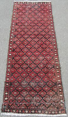 A Shabby Chic Old Persian Balouch Long Rug Runner Hall Rug Been Cleaned
