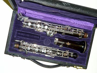Beautiful Depose Semer professional  Made in France Oboe in case