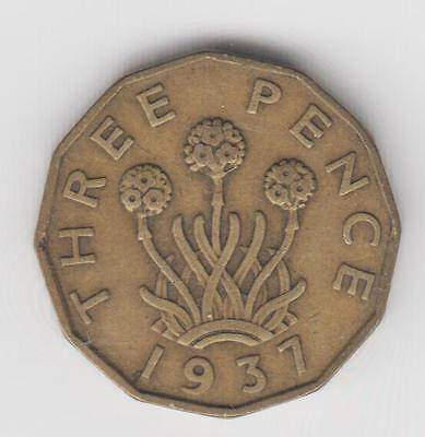 Threepence Brass 3d choose your dates