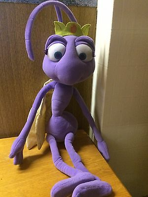 Disney PIXAR 'A Bug's Life ATTA Plush Bendy Toy Huge 24""