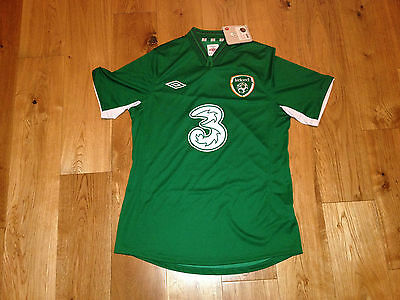 Ireland Football Shirt Jersey 2012/13 Brand New With Tags - Adult M Umbro