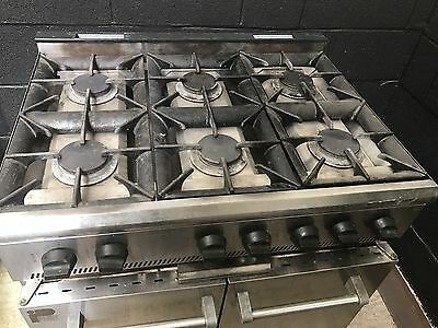 Large Commercial Gas Cooker