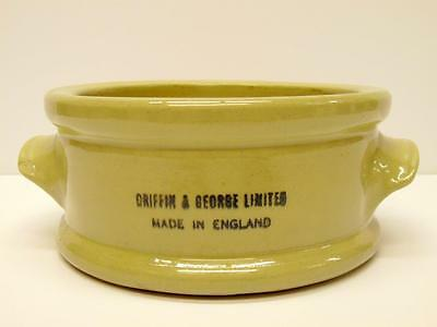 Vintage Griffin & George Laboratory Apothecary Two Handled Bowl (A)