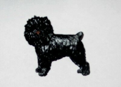 Affenpinscher Dog Handpainted Pin~beautiful~affinpinscher