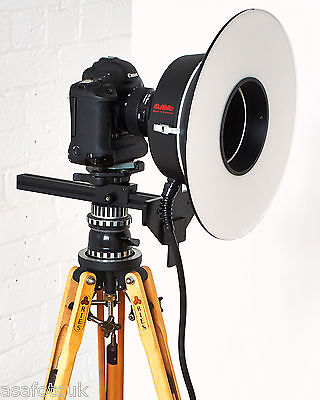 Multiblitz 1200 joule Studio Ringflash System - FOR USE WITH MULTIBLITZ PACKS