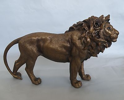 Large Lion Standing Figurine/Statue * NEW * African Safari