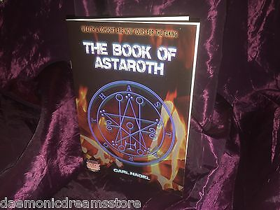 THE BOOK OF ASTAROTH Carl Nagel Finbarr Occult Magic Witchcraft Magick Grimoire