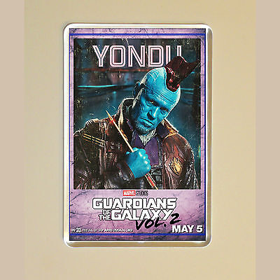 Guardians Of The Galaxy Vol 2 -  Michael Rooker - Yondu - Photo Fridge Magnet