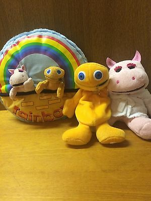 Vintage Rainbow Zippy soft toy Pillow And Others