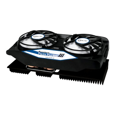 ARCTIC Accelero Twin Turbo III - Graphics Card Cooler With Backside Cooler For