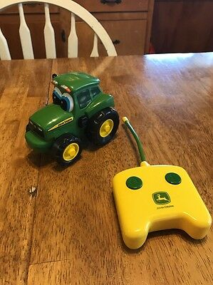 John Deere Ertl Remote Control Johnny Toddler Toy Two Button