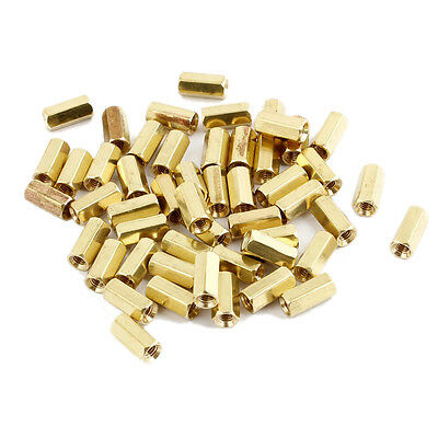 50Pcs M3 Male Thread Hex Standoff Hexagonal Spacer HY