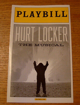 Hedwig and The Angry Inch Broadway Musical Hurt Locker Prop Playbill Theatre