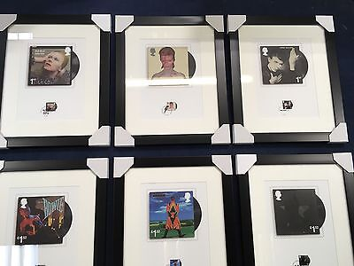 David Bowie Souvenir Ltd Edition 6 ALBUM Prints Stamps +Fan Sheet Ltd Ed.No.2363