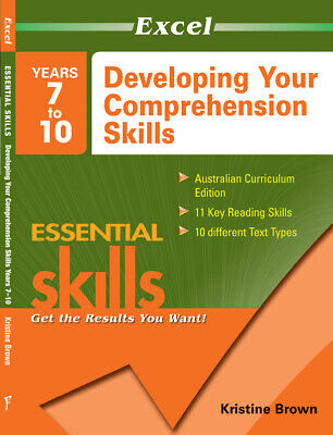 Excel Essential Skills - Developing Your Comprehension Skills Years 7-10 9781741