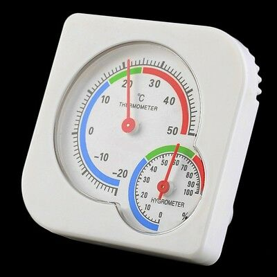 INDOOR OUTDOOR HYGROMETER THERMOMETER Humidity Monitor Meter Gauge