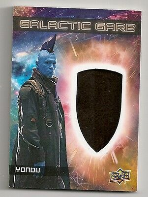 2017 Guardians Of The Galaxy Vol 2 Galactic Card #sm-12 Yondu Memorabilia Card
