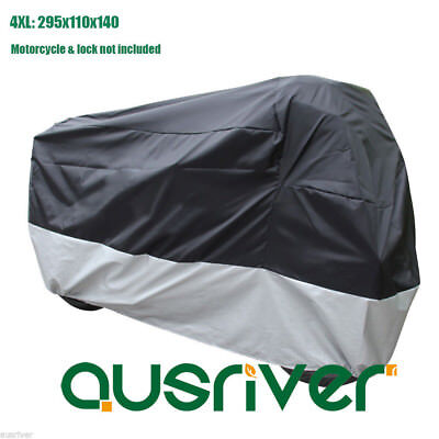 New Super Large 4XL 295x110x140 Waterproof Motorcycle Motorbike Cover for Honda
