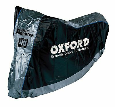 Oxford Aquatex Motorcycle Indoor & Outdoor Cover Large NEW