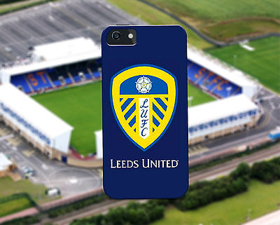 New Leeds United LUFC Hard Cover Case For iPhone 4-7 & Samsung S3-S8
