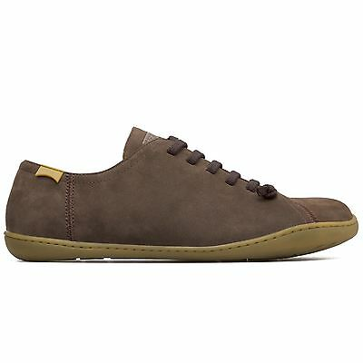 Camper Peu Cami 17665 Dark Brown Mens Nubuck Lace Up Trainers All Sizes